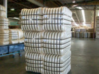 Finished product HD high density compressed bales 1 = 4 farm bales